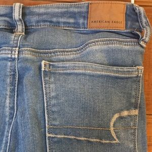 American Eagle Outfitters Jeans - American Eagle - Distressed medium wash, jeans